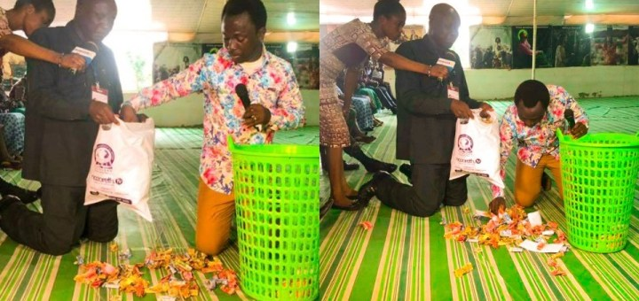 Pastor Gives all Church Offerings and Tithes to Man Facing Challenges (Photos)