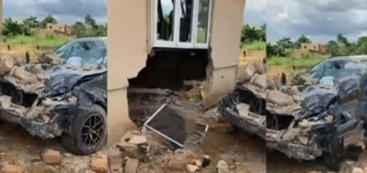 Car wash attendant crashes customer's brand new Benz (Video)