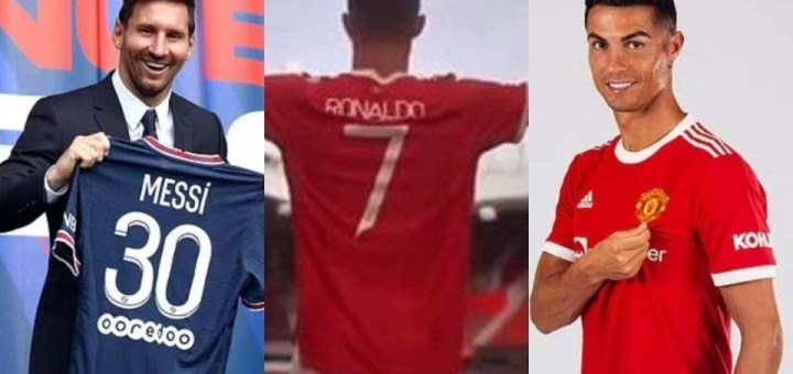 Ronaldo beats Messi in shirt sales; Brings in £187m in just 8 days