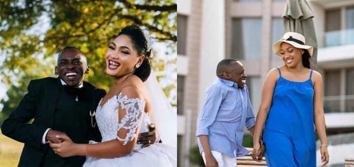 Tanzanian politician, Petro Magoti, ties the knot with his fiancée, Joyce (Photos)