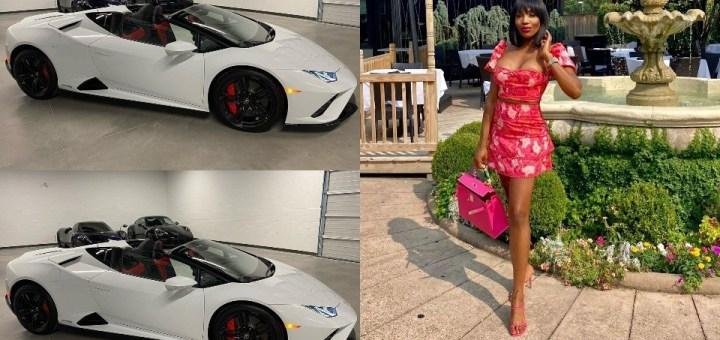 Businesswoman buys herself a 2022 Lamborghini Huracan as birthday gift