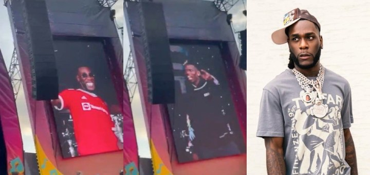 Burna Boy brings Pogba out during Parklife Festival (Video)