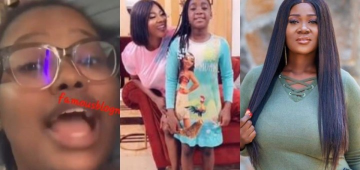 """""""Is your child the only celebrity child in that school?"""" - Lady continues to drag Mercy Johnson over school saga (Video)"""
