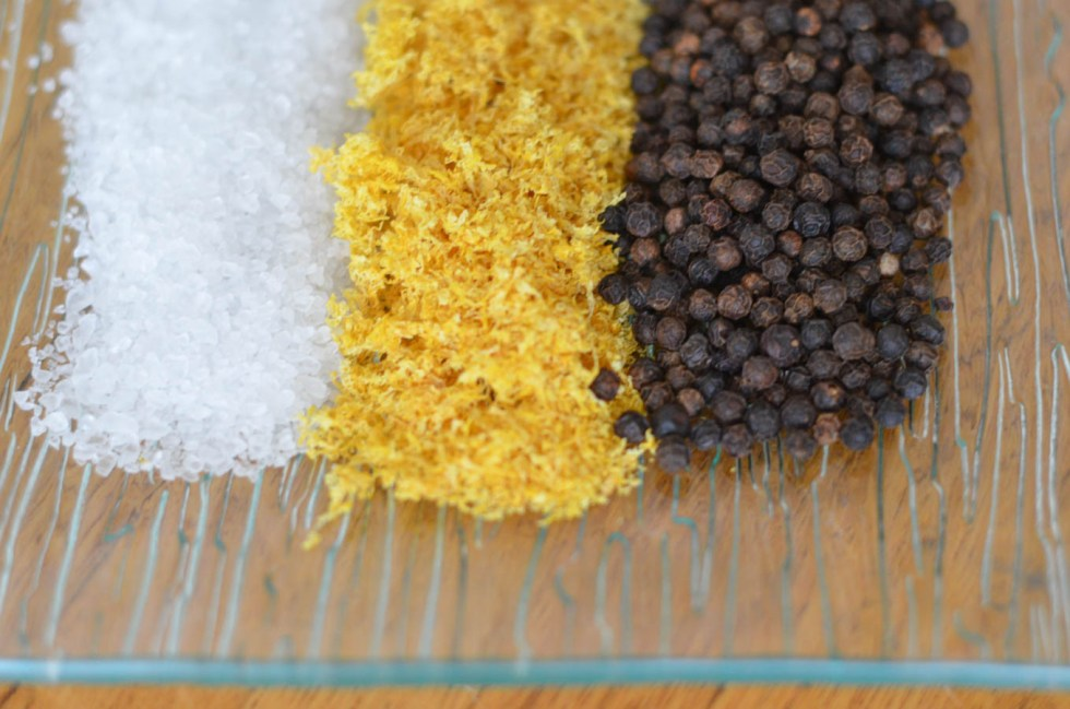 DIY Holiday Gift- Homemade Spice Mixes - Lemon Pepper Seasoning Recipe