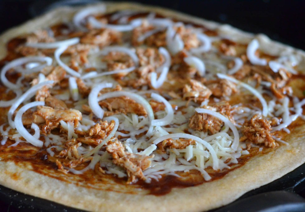 Thai Barbeque Chicken Pizza Recipe