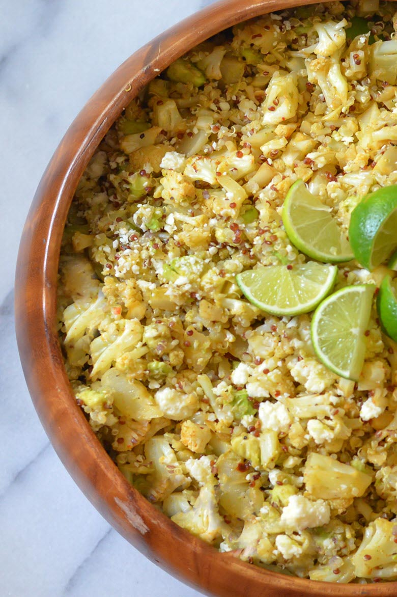 Mexican Roasted Cauliflower Salad