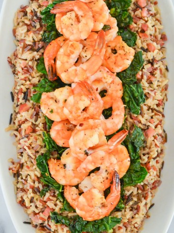 Easy One Pot Shrimp and Rice Recipe