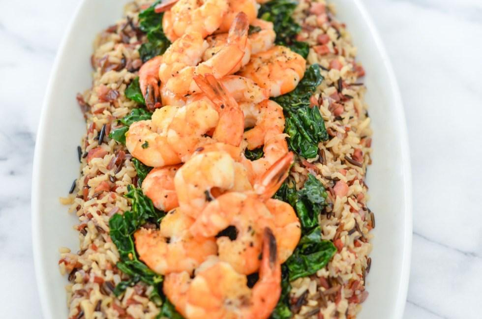 Easy One Pot Shrimp and Rice Recipe
