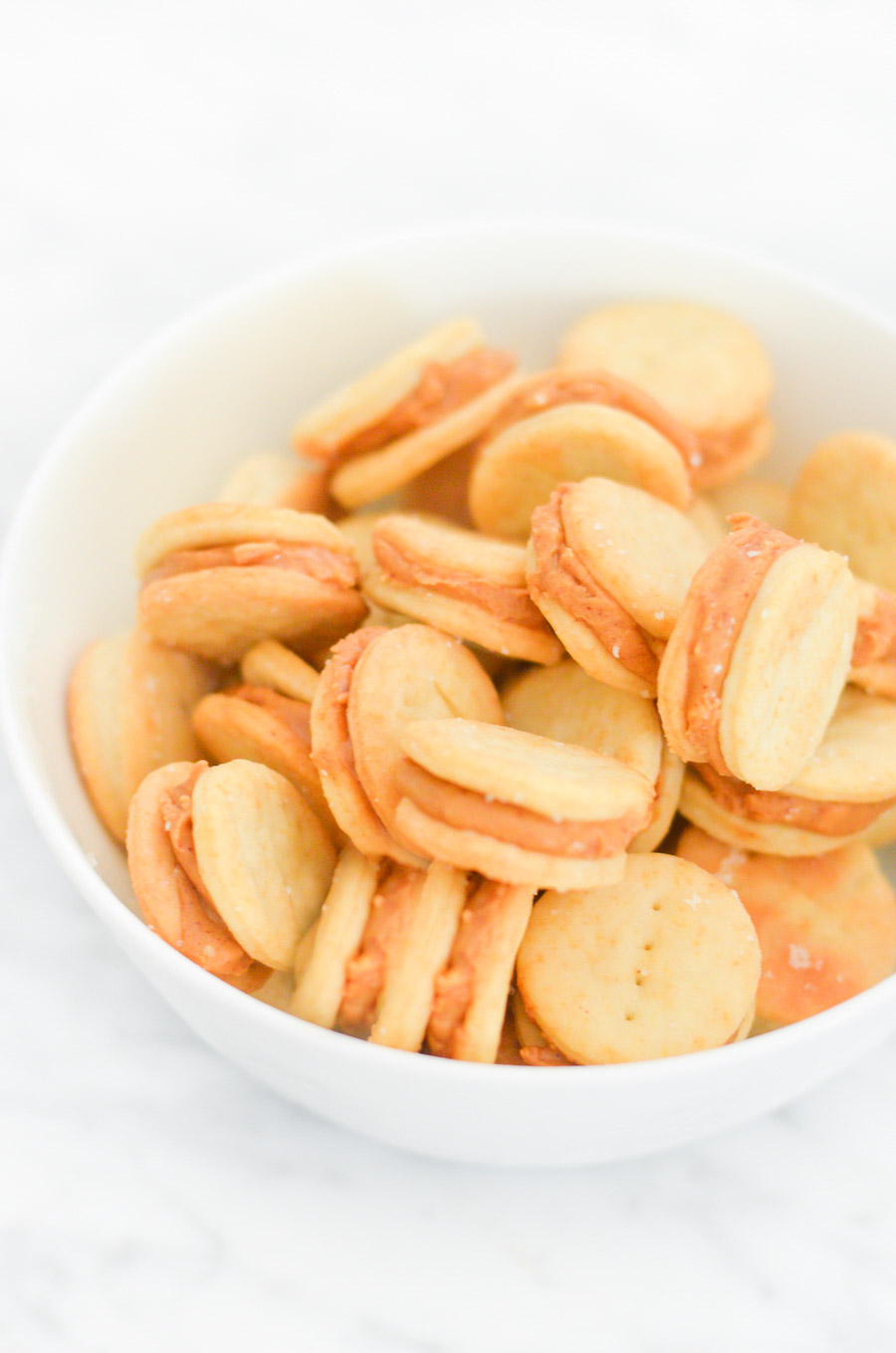 Homemade Ritz Peanut Butter Cracker Sandwiches Recipe