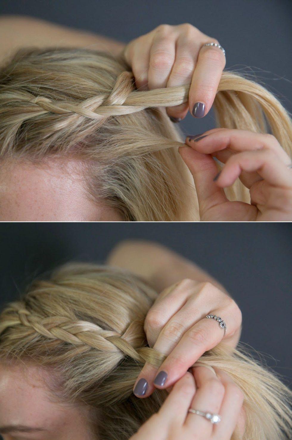 Easy Small Braid Tutorial
