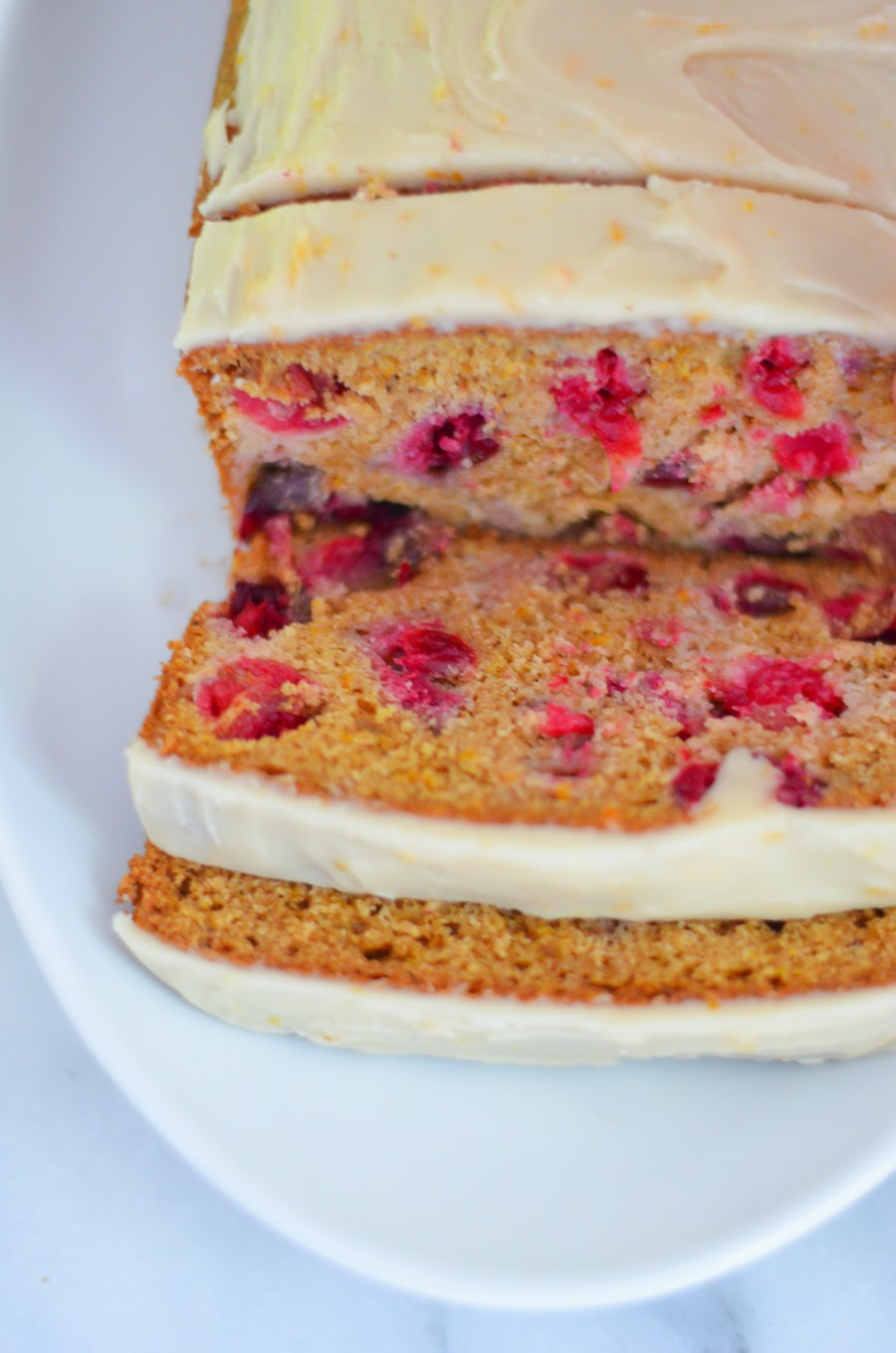 Orange Cranberry Spice Bread   I Can't Believe It's Not Butter