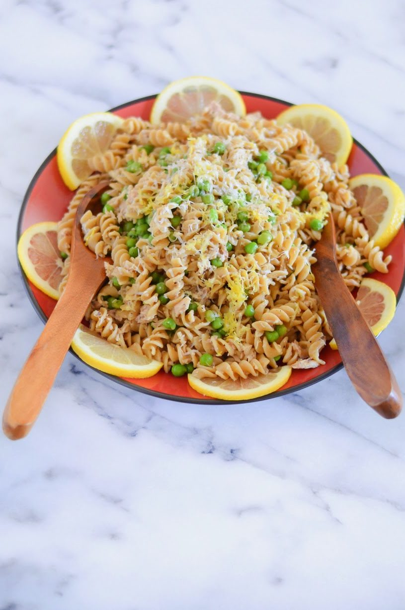 Tuna Lemon Pasta