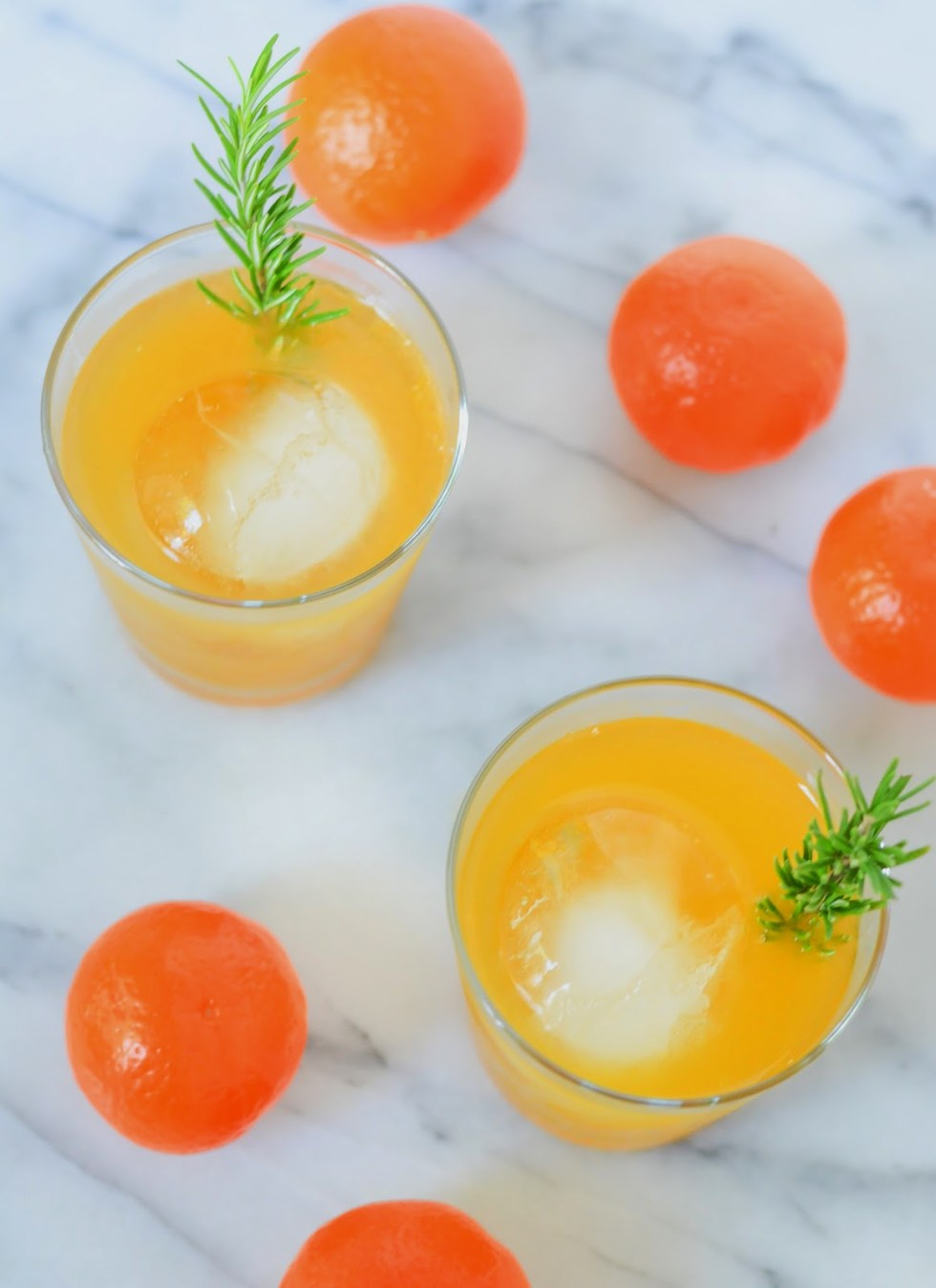 Tangerine Cocktail Recipe w. Whiskey | Luci's Morsels