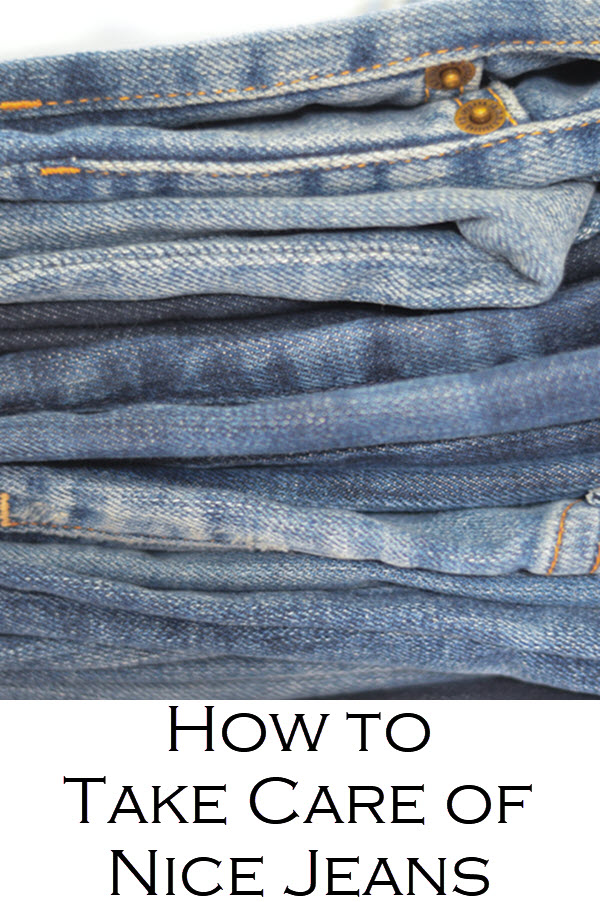 How to Take Care of Nice Jeans. . Wondering when to Wash Jeans. With so many myths going around about how to wash your jeans and how often to wash your jeans, it's a lot to take in. This definitive guide to how often to wash your jeans!