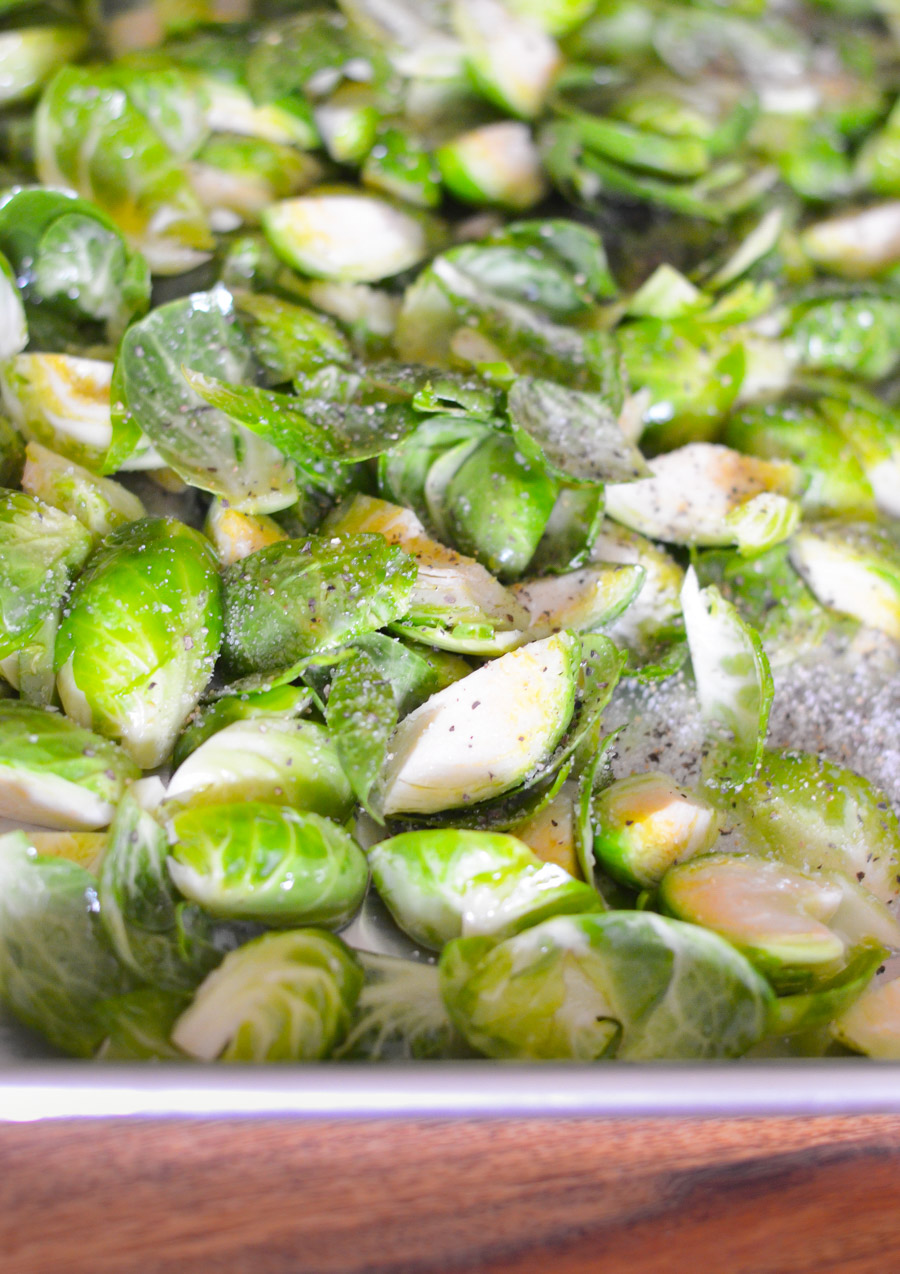 Roasted Brussel Sprouts Without Bitterness