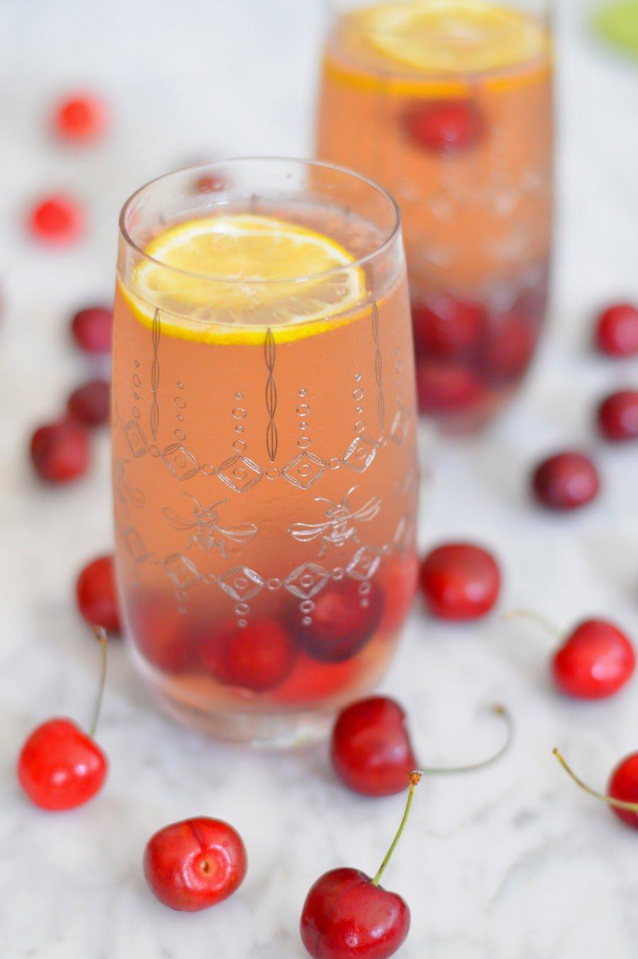 Cherry Chardonnay Sangria
