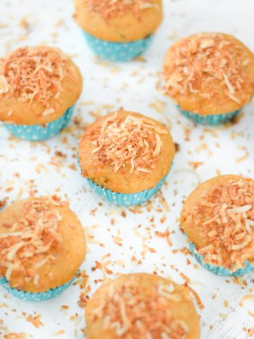 Coconut Sweet Potato Muffins