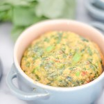 Mini Basil + Greens Egg Soufflé