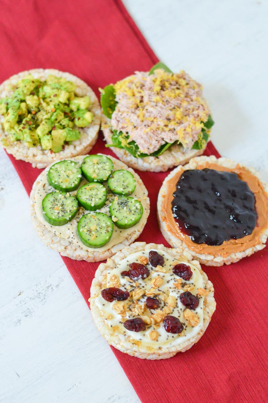 5 Healthy Rice Cake Toppings Recipes