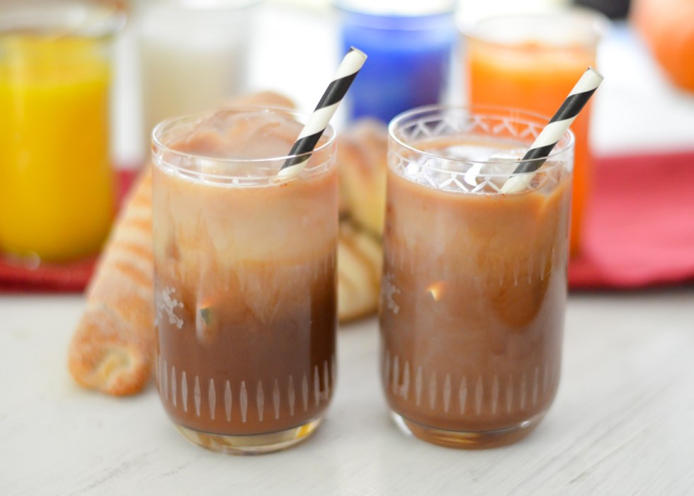 Healthy + Homemade Cinco de Mayo Recipes | Mexican Chocolate Iced Coffee Recipe | Luci's Morsels :: LA Healthy Food Blogger