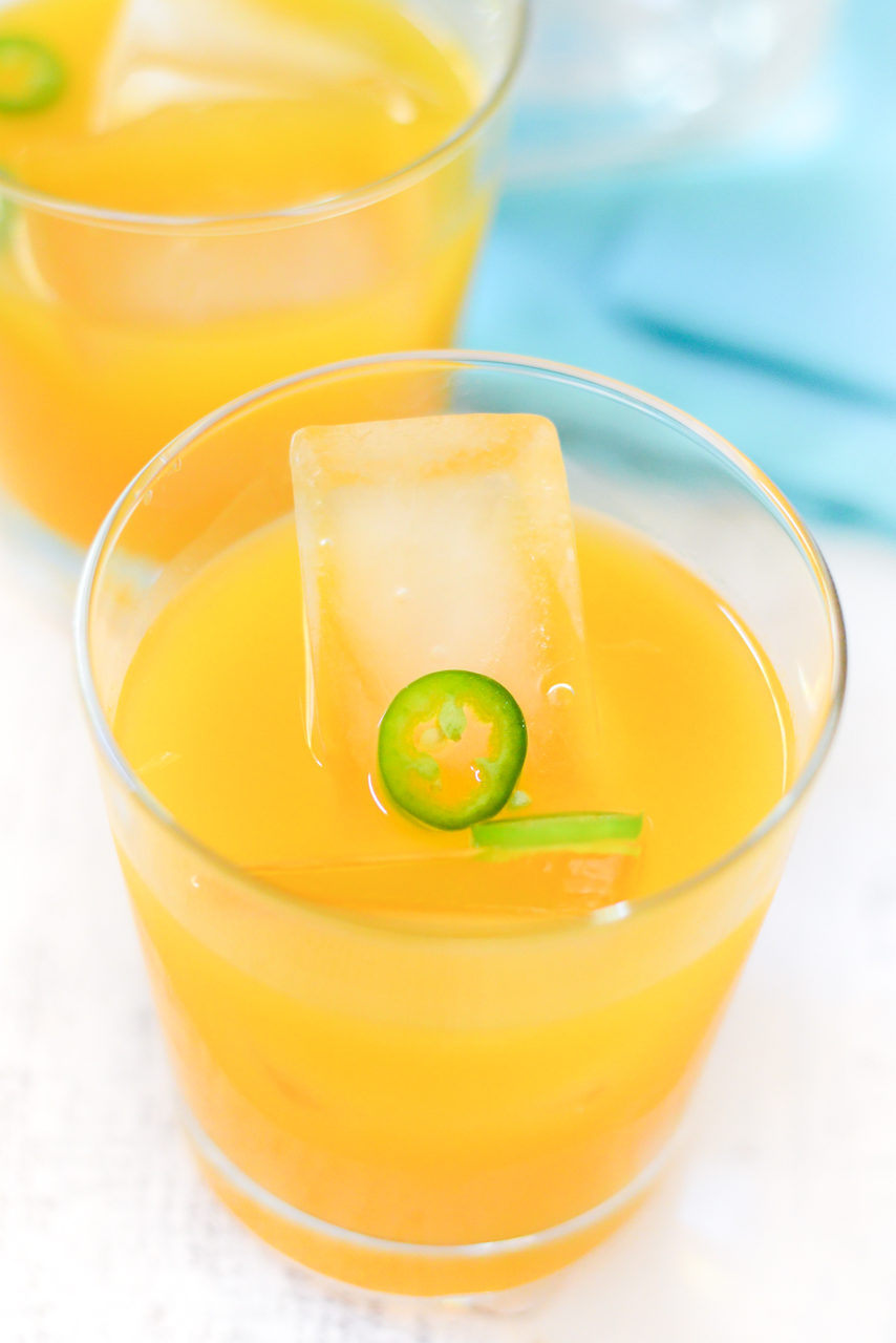 Mango Margarita On the Rocks