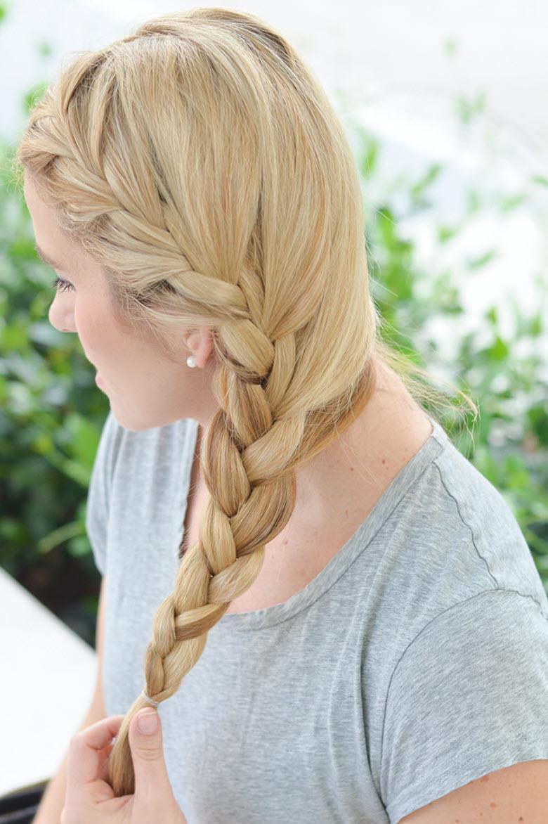 One-Sided Braid Tutorial