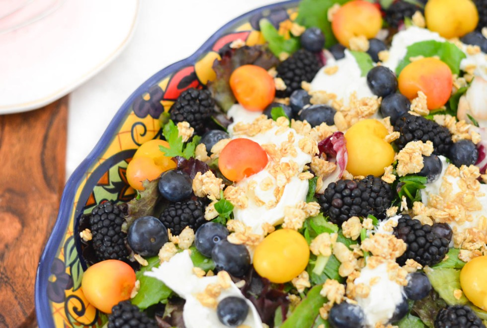 9 Healthy Summer Salads | Berry, Burrata Breakfast Salad