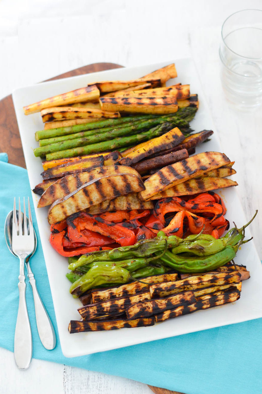 Make Ahead Grilled Veggie Hors d'oeuvres