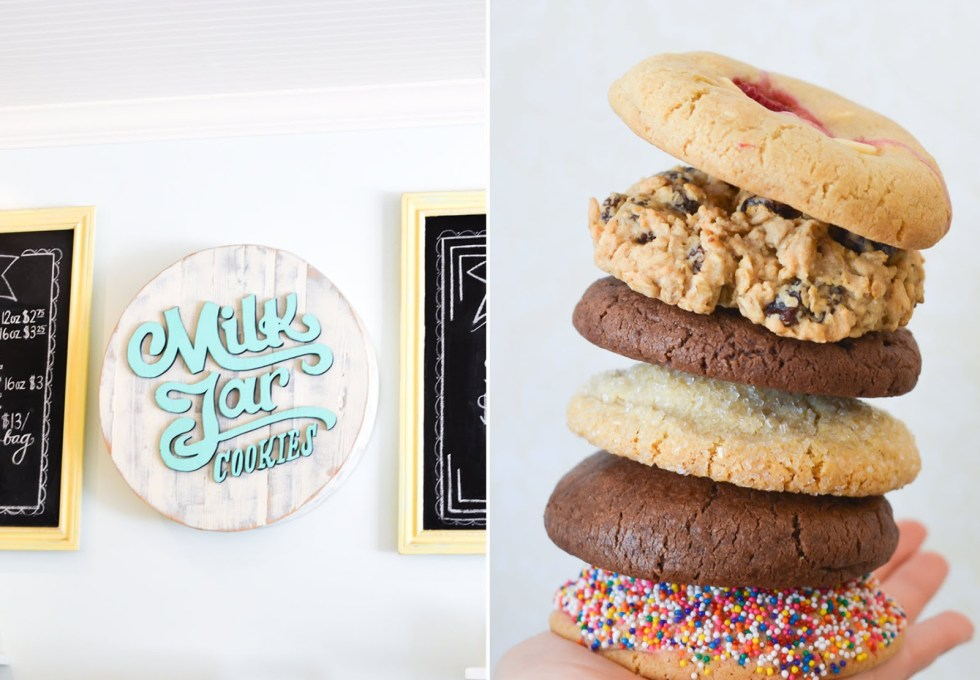 Delicious Dessert Spots in LA | Milk Jar Cookies :: Los Angeles/Miracle Mile | Luci's Morsels :: LA Travel Blogger