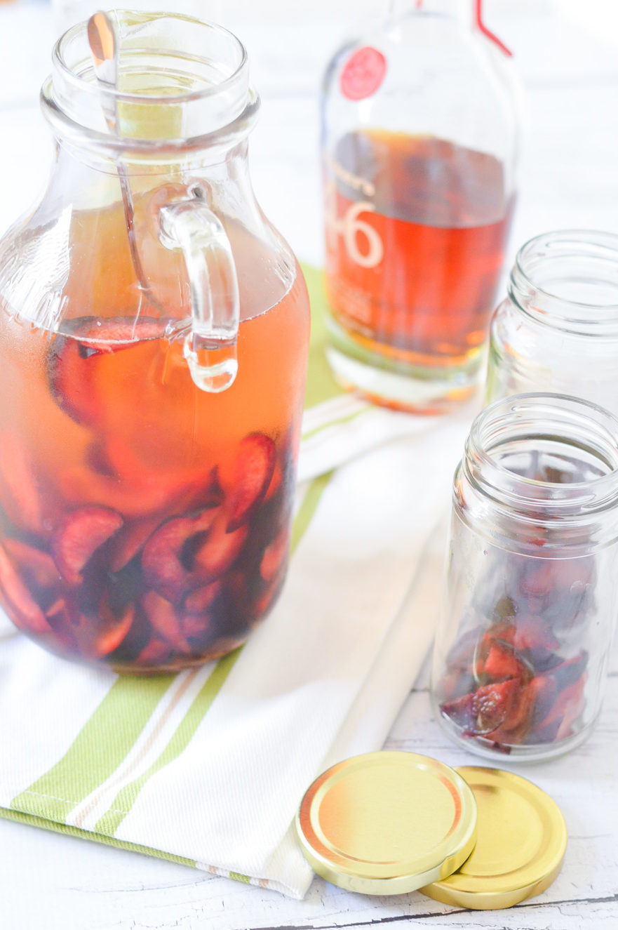 Plum Pinot Grigio Sangria Recipe - Easy Drink for Entertaining-Lucis Morsels- LA Food + Drink Blogger