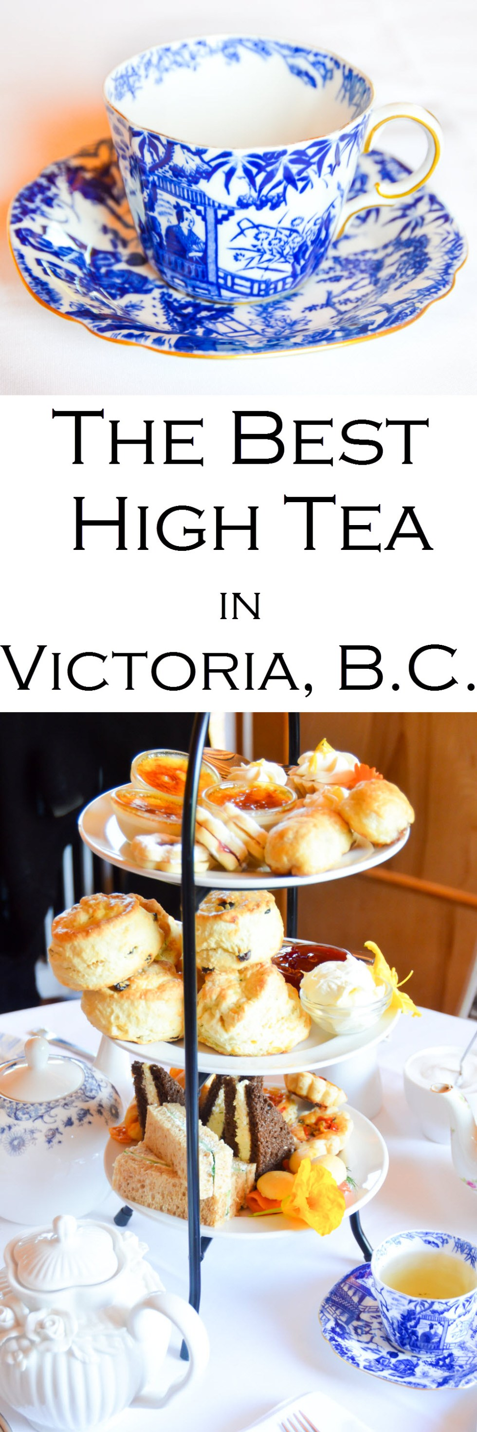 The Best High Tea in Victoria, BC - Teahouse at Abkhazi Gardens