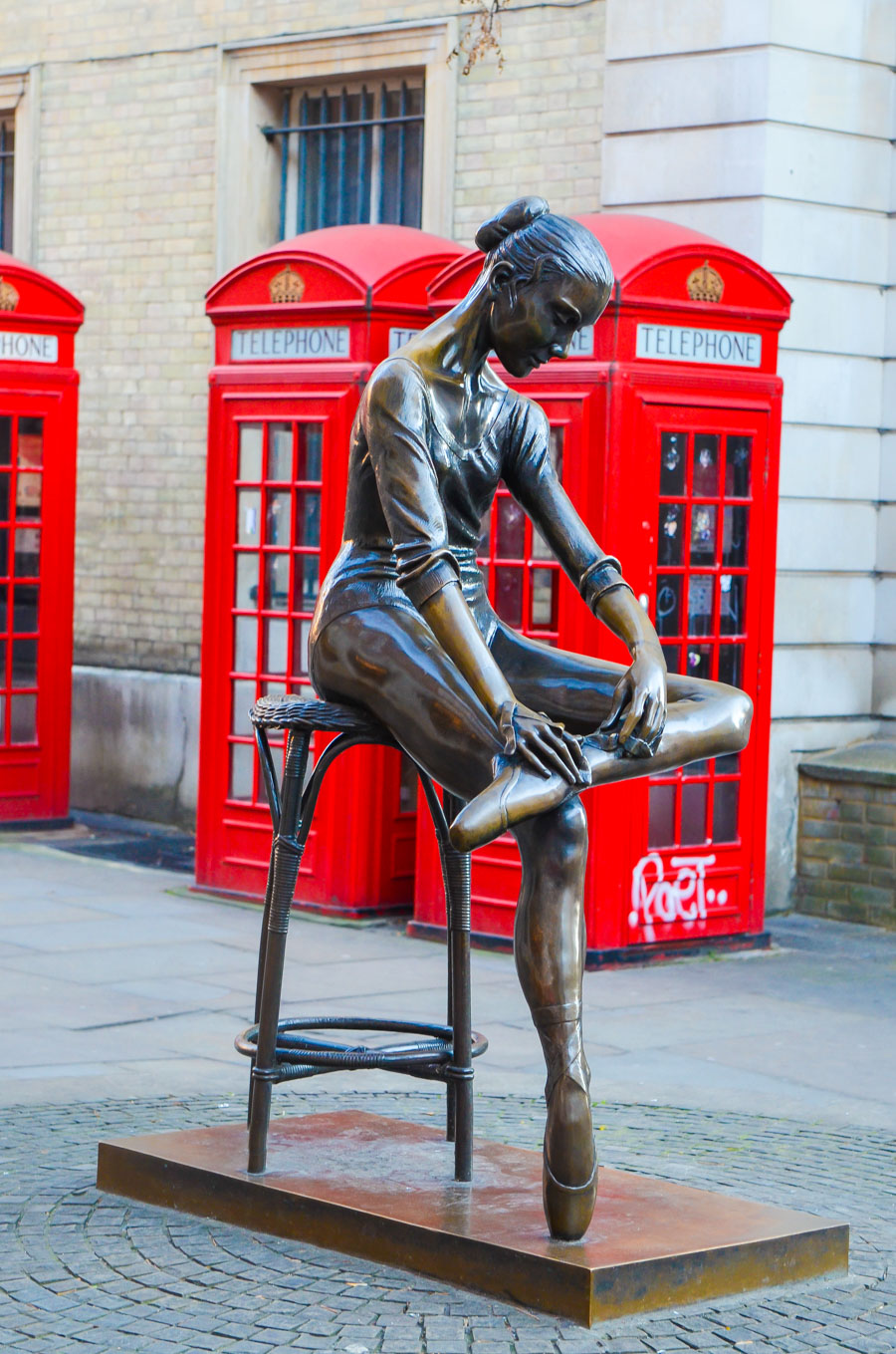Authentic London Walking Tours in Soho + Covent Garden | Ballerina Statue