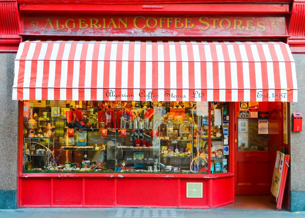 Authentic London Walking Tours in Soho + Covent Garden | Algerian Coffee Store