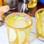 Irish Whiskey Cocktail Recipe w. IZZE Sparkling Apple, Fresh Ginger, + Honey - Easy St. Patrick's Day Cocktail