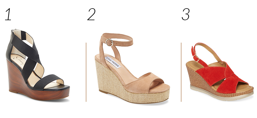 Comfortable Wedges for Spring and Summer