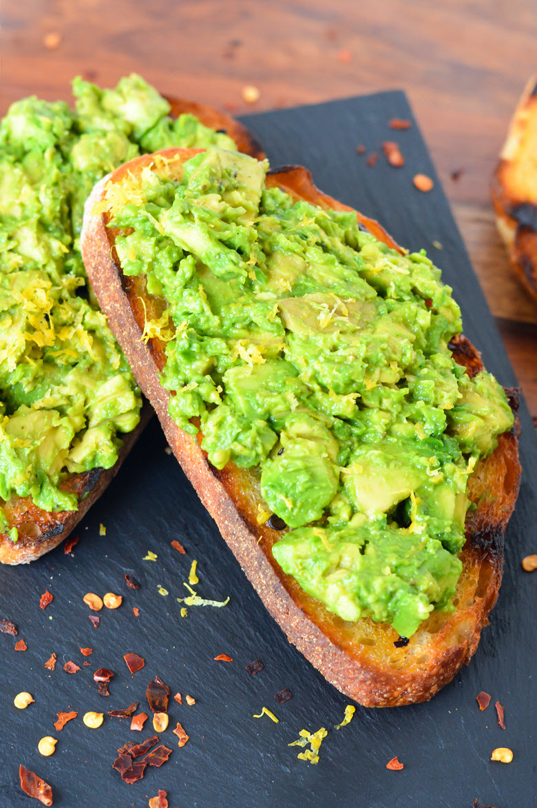Spicy Grilled Avocado Toast