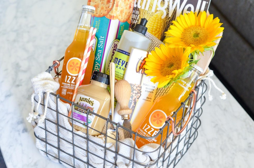 DIY Food Lover's Gift Basket