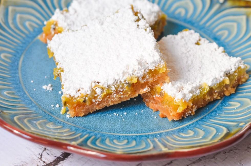 Passion Fruit Bars w. Graham Cracker Crust   Luci's Morsels