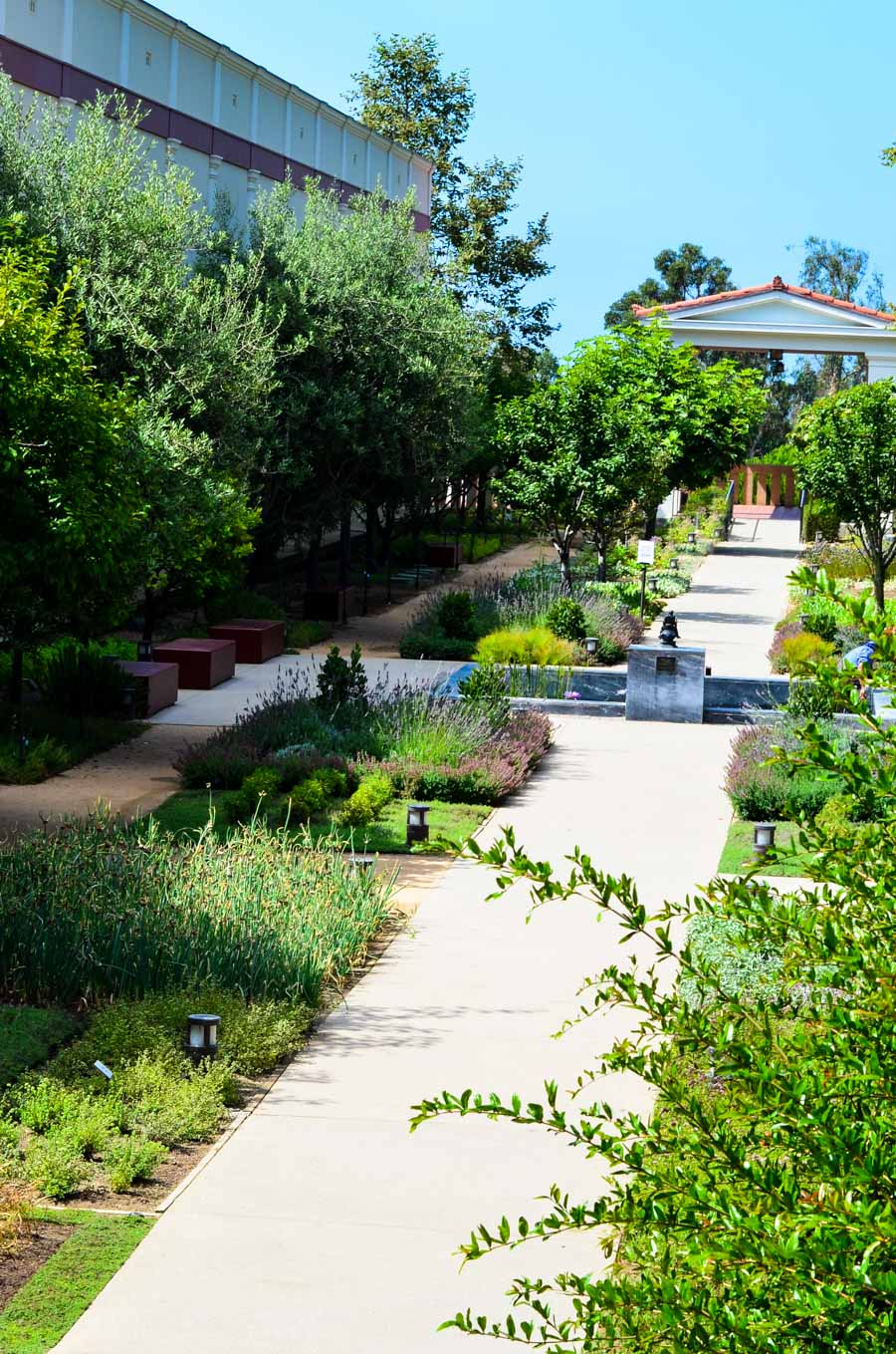 Garden Tour Getty Villa - Malibu, CA Travel Guide