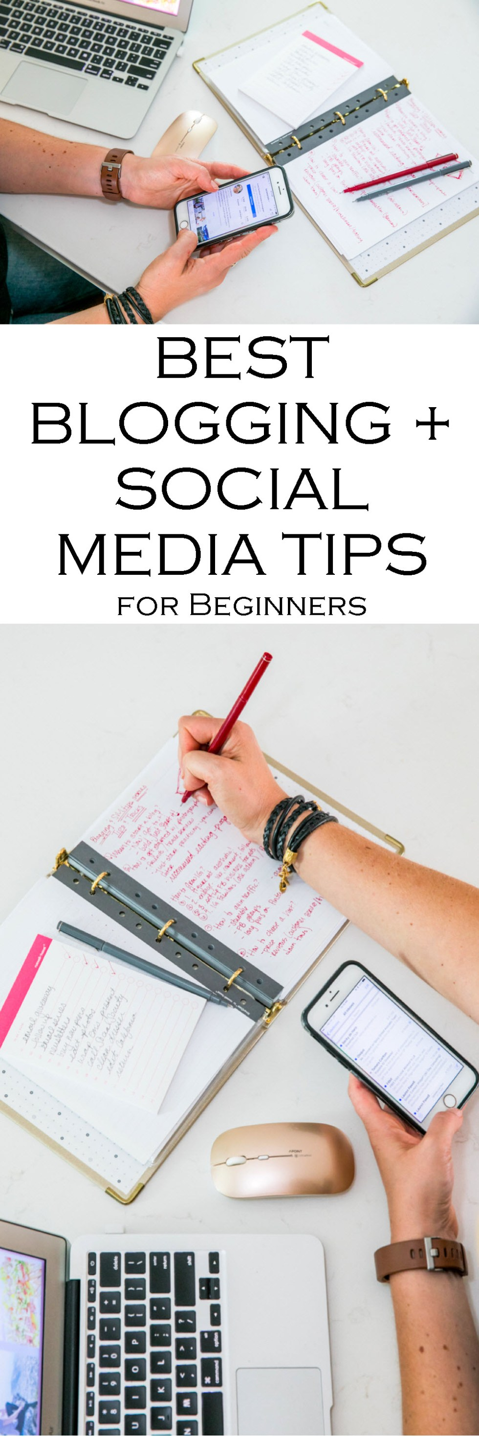Best Blogging + Social Media Tips Series for New Bloggers and Small Businesses