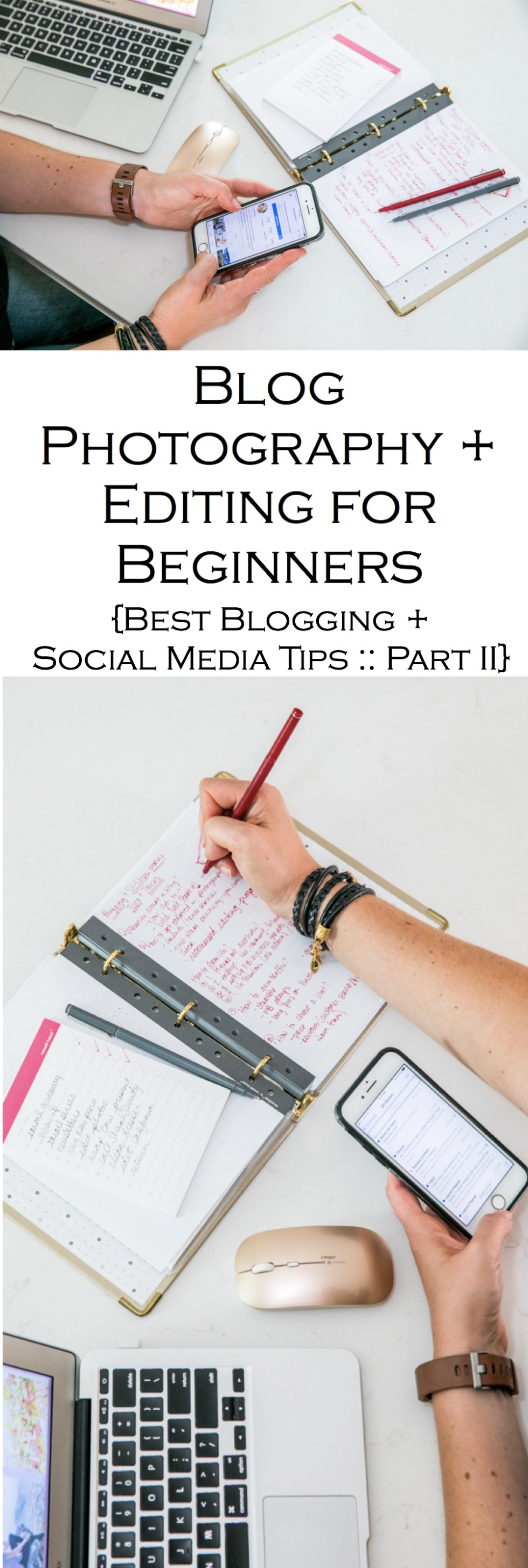Best Blogging + Social Media Tips Series for New Bloggers and Small Businesses. Blog Photography Tips for Beginners, especially for fashion and food bloggers.