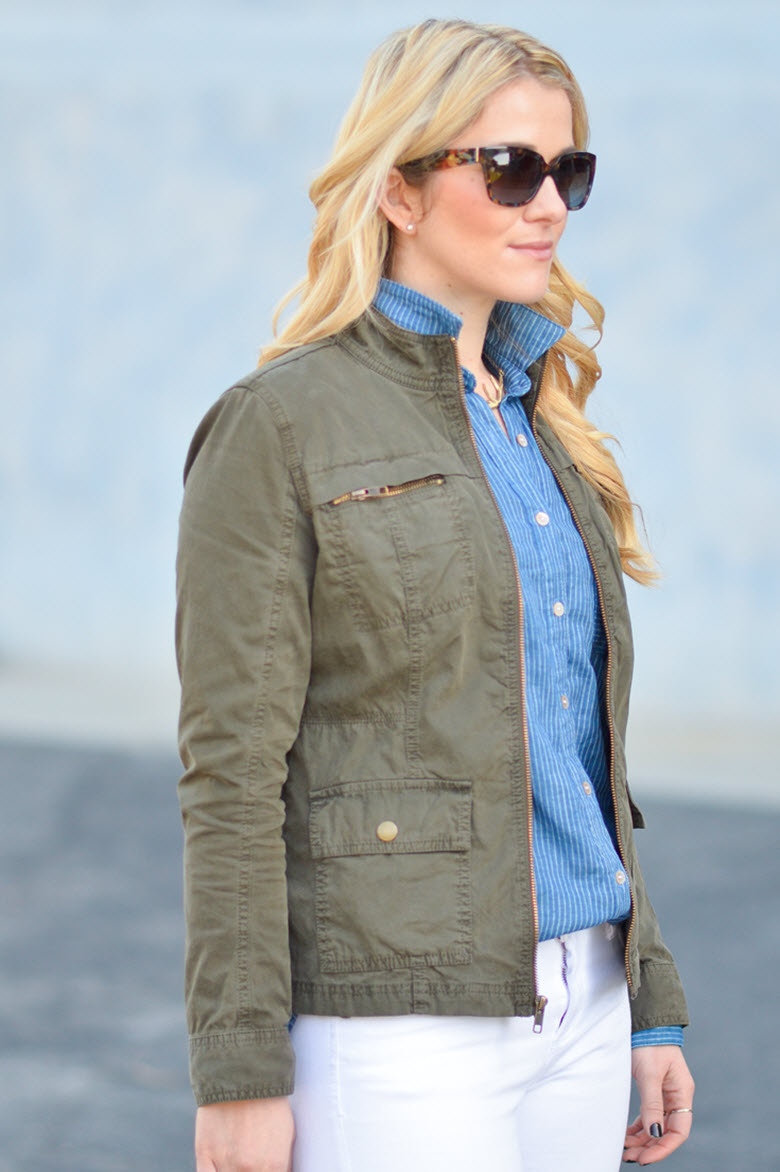 Wardrobe Essential :: Military Jacket