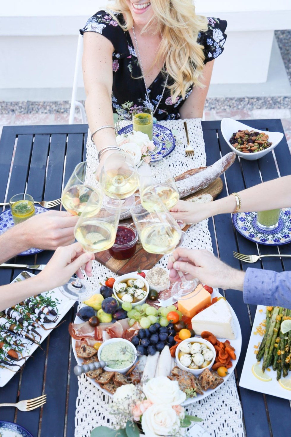 Easy, Late Summer Dinner Party Menu, Setup Tips w Make-Ahead Recipes
