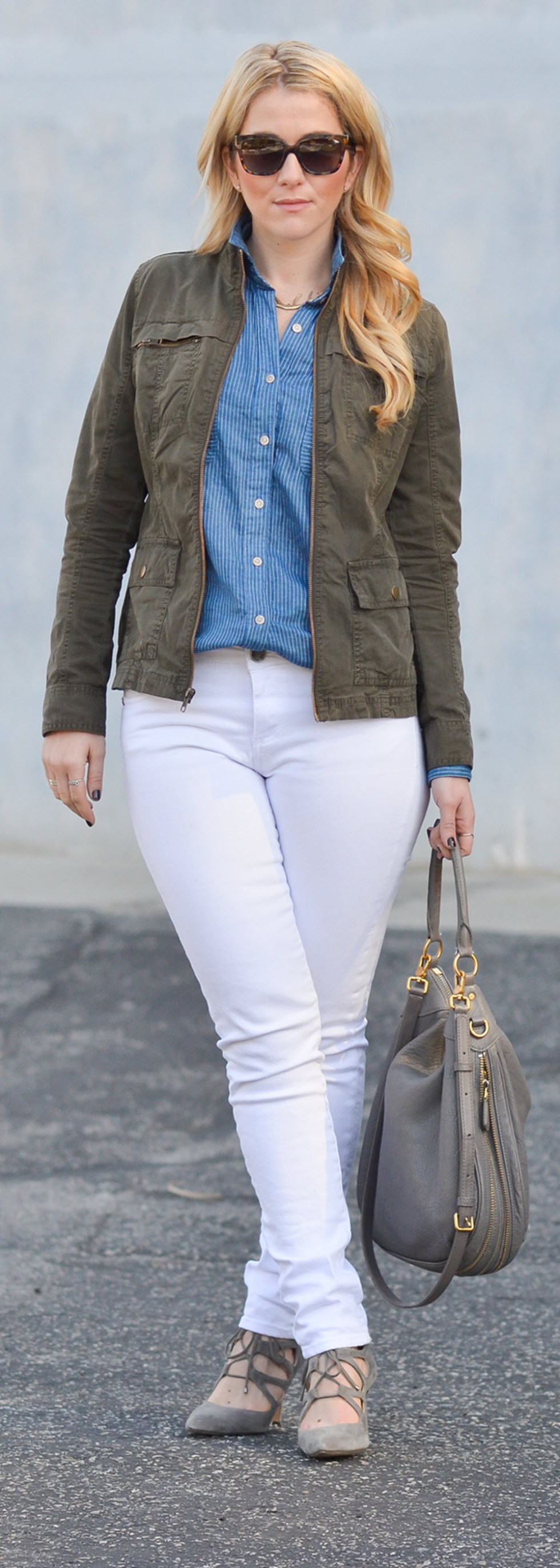 Wardrobe Essential  Military Jacket Outfit Ideas for Women