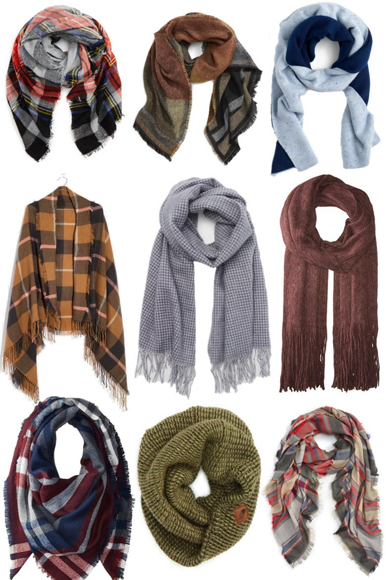 This Year's Fall Scarves