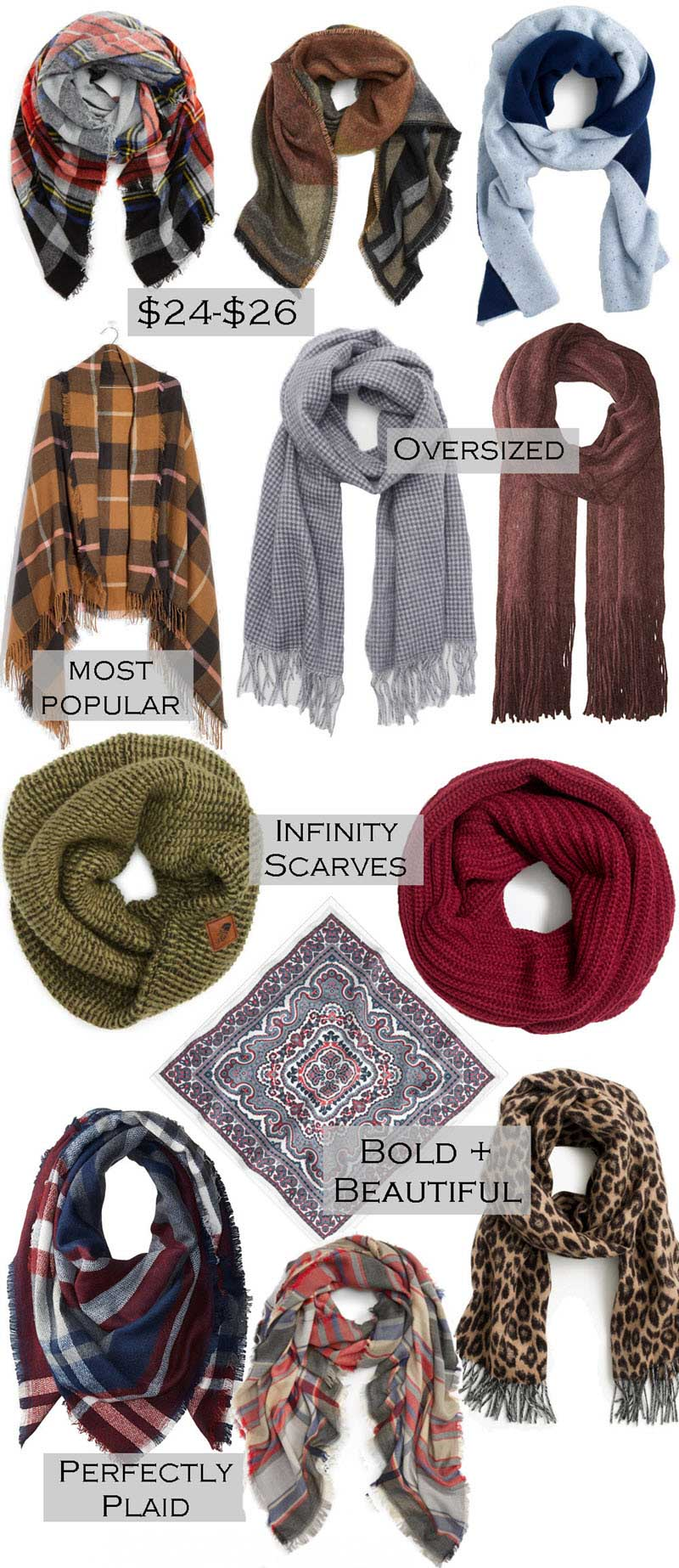 Fall Scarves 2017 Scarf Trends