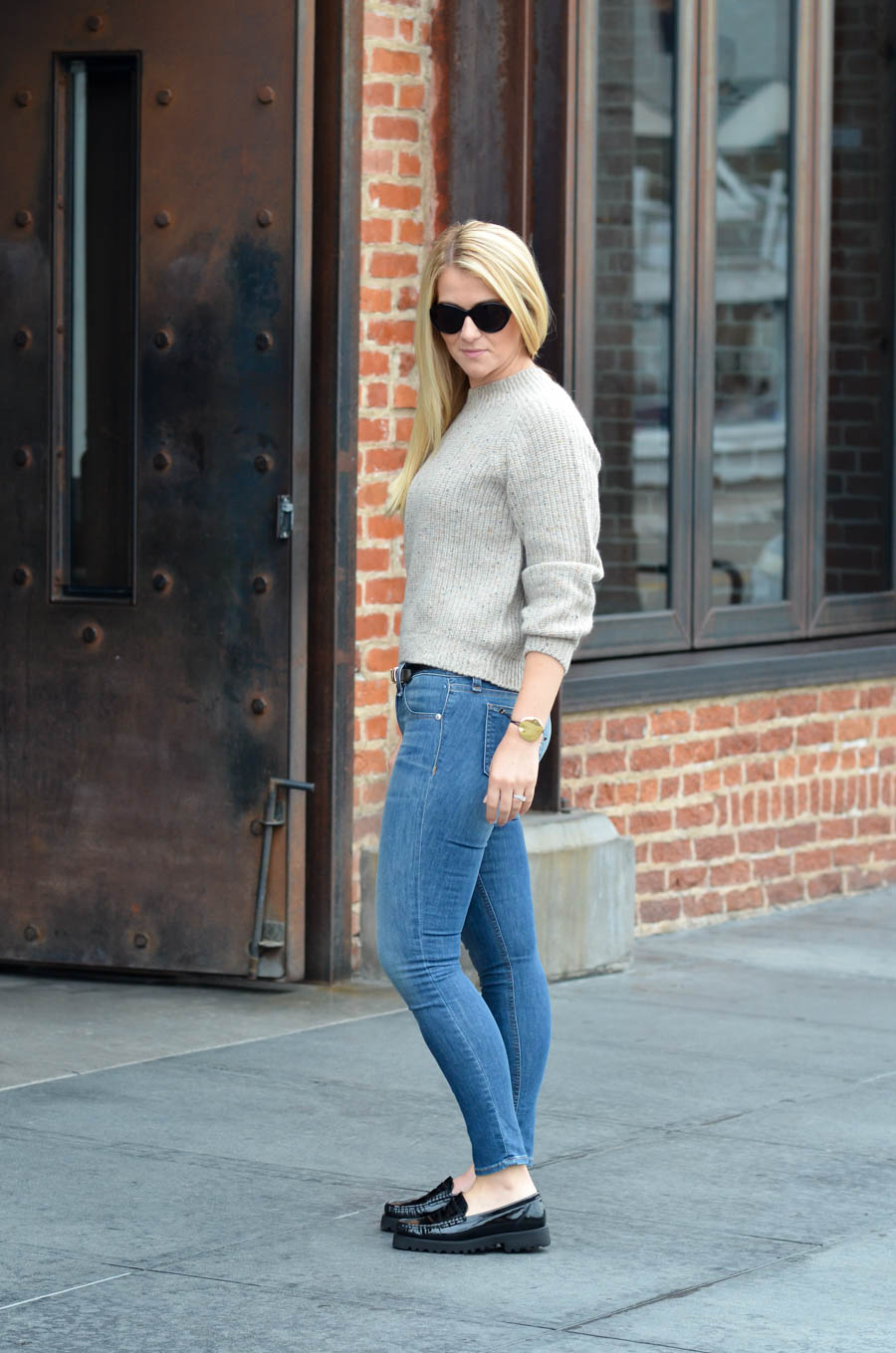Ron White Shoes Review + Outfit w. Vince Cashmere Sweater Outfit for Women