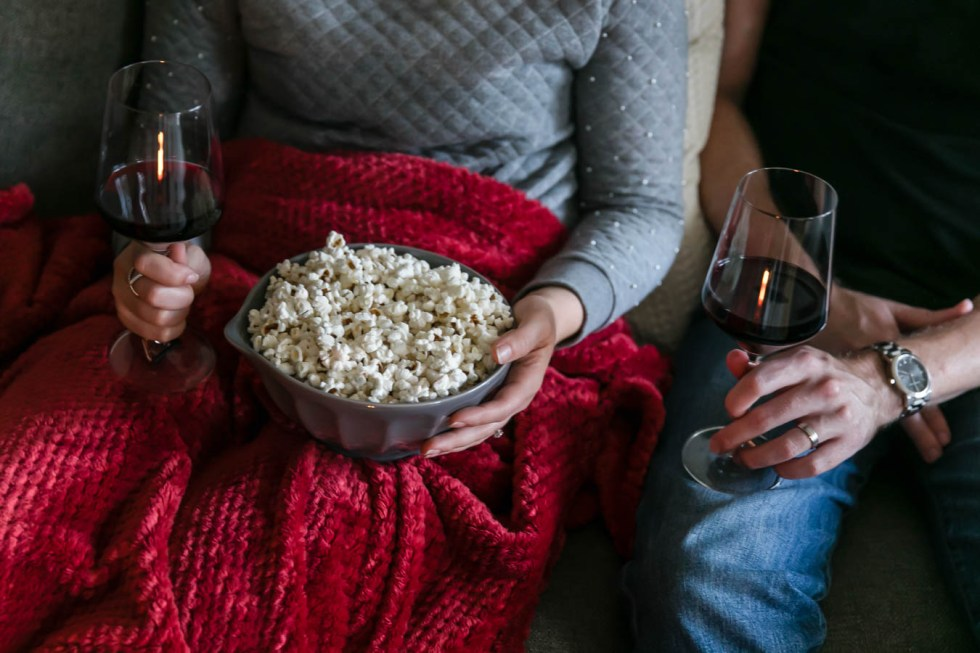 Date Night at Home - Movie Night for Married Couples