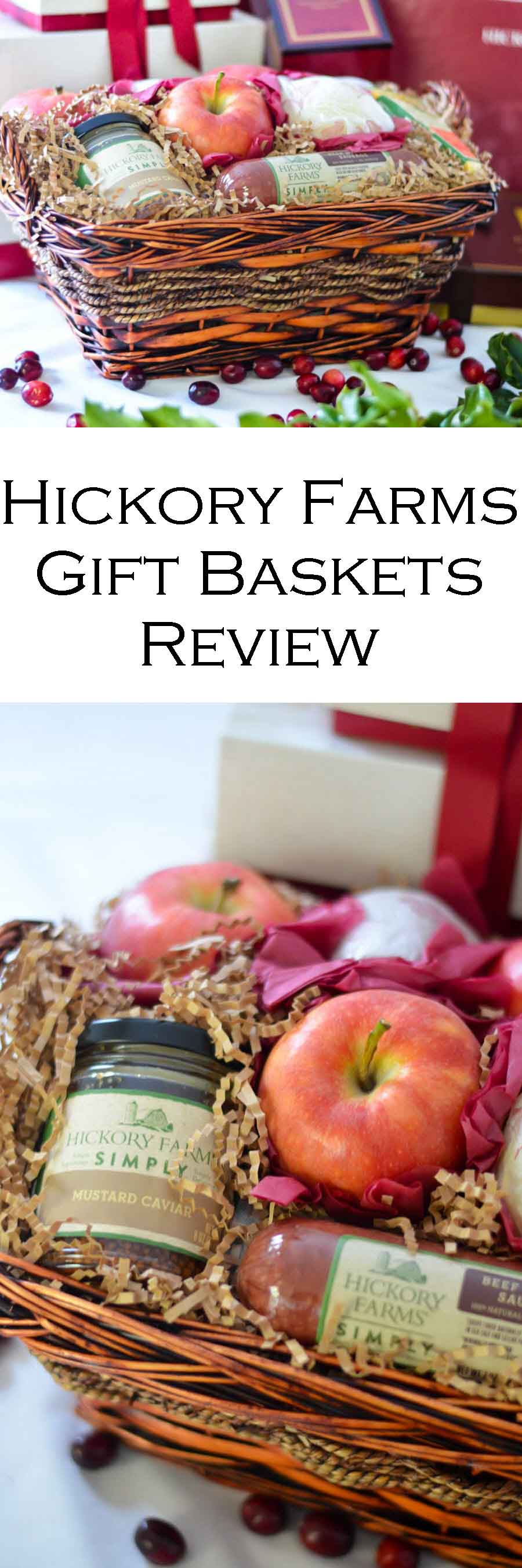 Hickory Farms Gift Baskets Review #Christmas #Holidays #Holidayseason #Christmasgifts #Giftguide