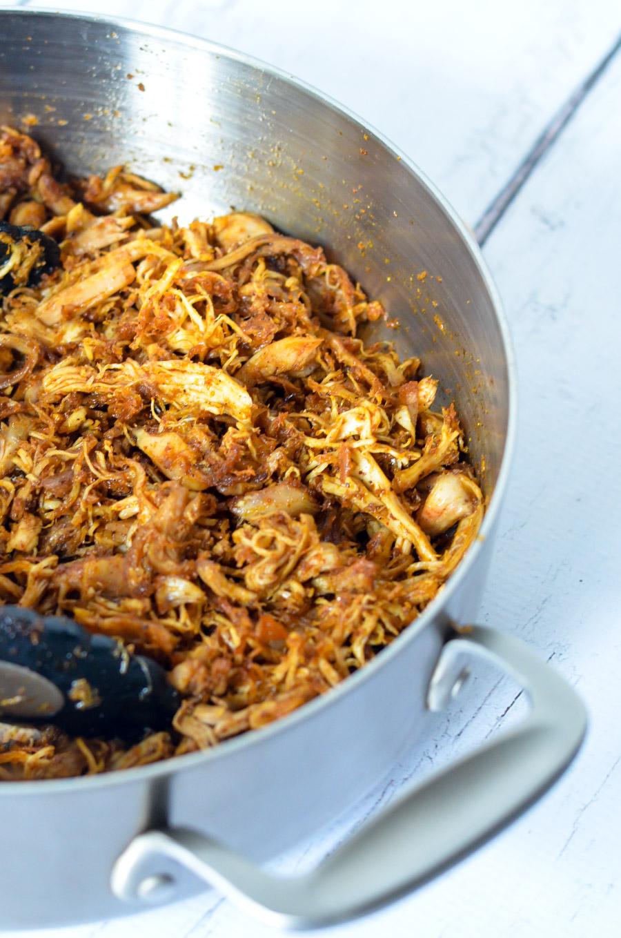 Leftover Turkey Carnitas Recipe